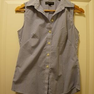 Banana Republic Stripe Button Down Blouse